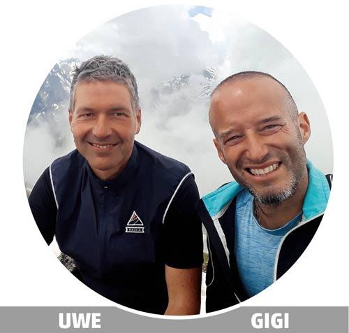 Goldenroof Hiking Guides Uwe and Gigi
